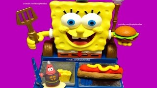 Nickelodeon SPONGEBOB Talking Krabby Patty Maker | itsplaytime612