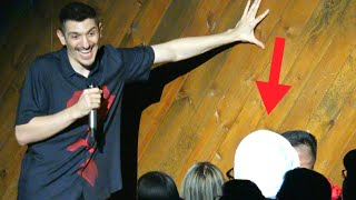 Massive Turban Disrupts Comedy Show   Andrew Schulz   Stand Up Comedy