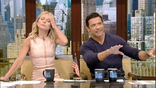 Mark Consuelos Wears Too Much Cologne