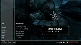 Skyrim Mods: Zero weight ingots and ores (PS4/XBOX1)