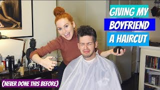 Download Youtube: Attempting to give my boyfriend a haircut (it gets bad) | Madelaine Petsch