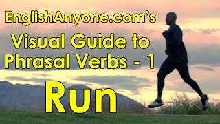 Phrasal Verbs with Run - Visual Guide to Phrasal Verbs from EnglishAnyone.com