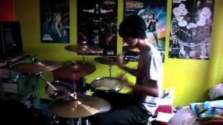 36 Crazyfists - Whitewater Drum Cover
