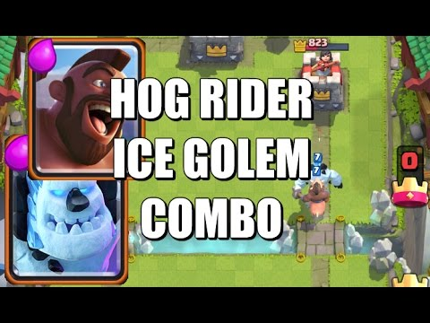 hog rider and ice
