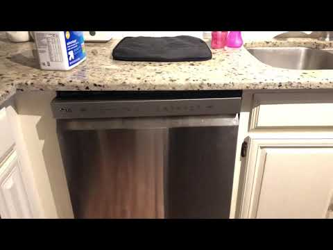 LG 24 Dishwasher with 48 dBA Quiet Level, 9 Wash Cycles & Front Controls -  Stainless Steel