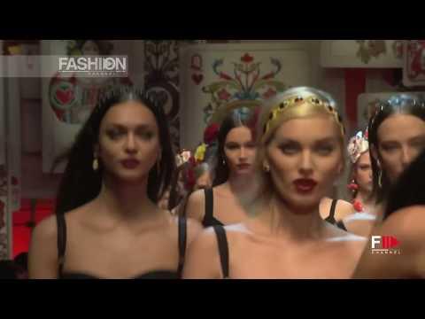 DOLCE&GABBANA Full Show Spring Summer 2018 Milan - Fashion Channel
