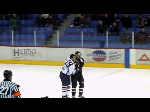 Peter-James Corsi vs. Yannick Tremblay
