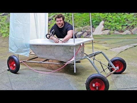Come trasformare un bagno in una macchina per la Red Bull Soapbox Race