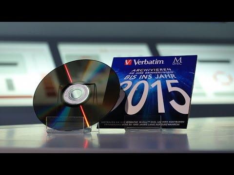 M-Disc: Diese DVD hält 1.000 Jahre