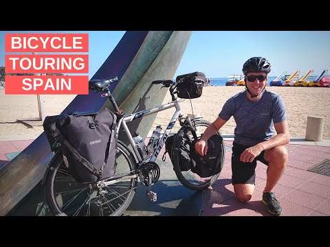 Bicycle Touring Spain Day 6 - Costa Brava