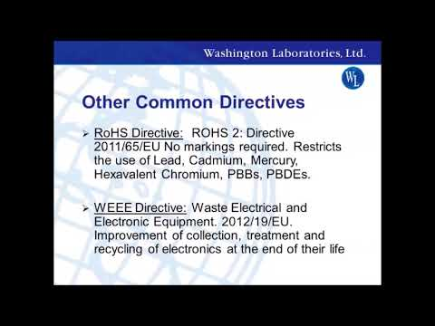 EU Compliance & The CE Mark - YouTube