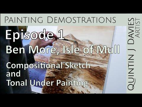 Thumbnail of Episode 1: Ben More - Landscape Painting Demonstration