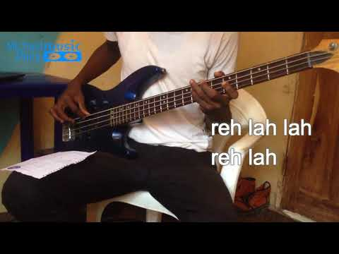 Bass groove of