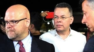 US pastor Andrew Brunson released from Turkish custody after two years