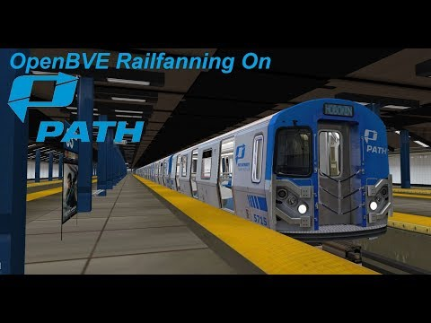 J) Skip-Stop Train to Broad Street! - OpenBVE - Dash5155 - Video