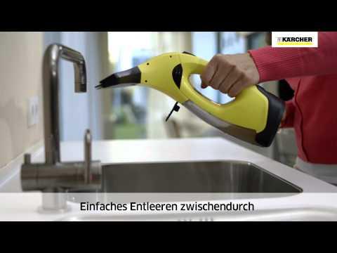 Predstavitev čistilca oken Kärcher WV 5 Plus (nemško)