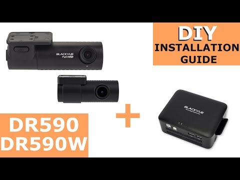 DR590/DR590W Series and Power Magic Battery Pack Installation