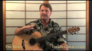Simon & Garfunkel - The Boxer Acoustic Guitar Lesson Preview