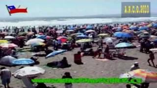 preview picture of video 'Cartagena de Chile Verano Terraza Playa Grande 2010'