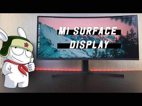 Игровой Монитор XIAOMI Surface Display 34 — Первый Обзор!