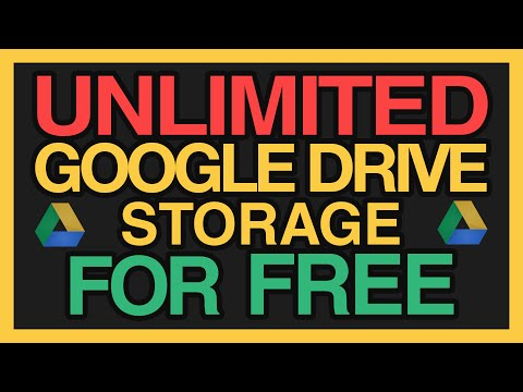 Video Theoretically UNLIMITED Google Drive Storage for FREE