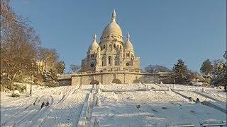 preview picture of video 'Ski à Montmartre, Paris #Episode2 La Face Nord'
