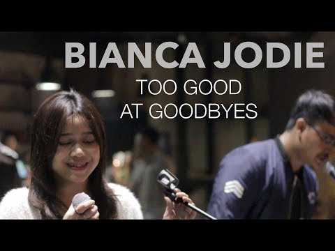 BIANCA JODIE - TOO GOOD AT GOODBYES (original song by Sam Smith)