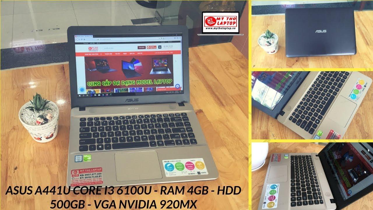 ASUS A441U Core i3 6100U - Ram 4GB - HDD 500GB - VGA Nvidia 920MX
