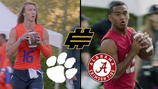 Trevor Lawrence & Tua Tagovailoa Elite 11 Highlights | NFL
