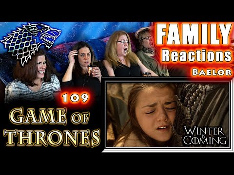 Game of Thrones | 109 | Baelor | FAMILY Reactions | Fair Use