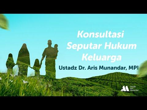 Video Konsultasi Seputar Hukum Keluarga – Ustadz Dr. Aris Munandar, SS, MPI