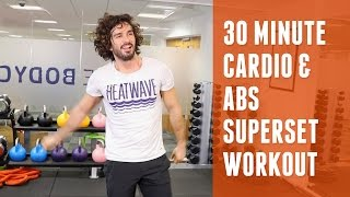 30 Minute Cardio & Abs Superset Workout | The Body Coach by The Body Coach TV