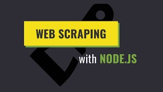 Web Scraping With Node.js And Cheerio