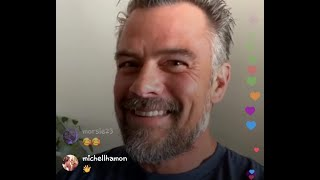 JOSH DUHAMEL En Instagram Live Con OLIVER HUDSON