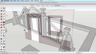 SketchUp Training Series: Push Pull tool