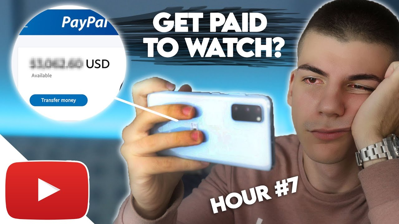 I Tried Making Money by Watching YouTube Videos For 8 Hours thumbnail