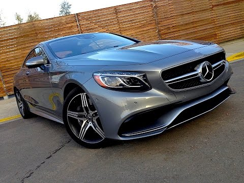 2015 Mercedes S63 AMG Coupe PREVIEW