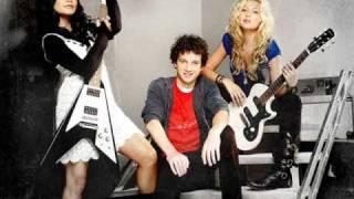 Bandslam - Aly Michalka - Someone to fall back on karaoke - lyrics on screen