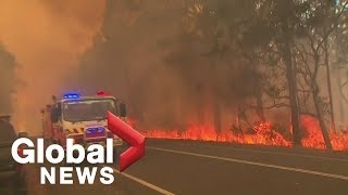 Growing evidence Australia's wildfires connected to climate change