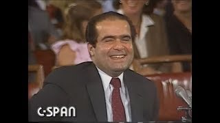 Supreme Court Confirmation Hearing:  Antonin Scalia - Day One - 1986
