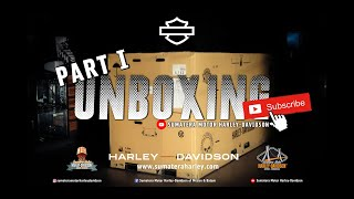 UNBOXING HARLEY-DAVIDSON FXDR 114