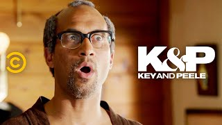 """In an attempt to track down his birth father, Jordan meets a man who may or may not be legit. (Contains strong language.)     About Key & Peele:  Key & Peele showcases the fearless wit of stars Keegan-Michael Key and Jordan Peele as the duo takes on everything from """"Gremlins 2"""" to systemic racism. With an array of sketches as wide-reaching as they are cringingly accurate, the pair has created a bevy of classic characters, including Wendell, the players of the East/West Bowl and President Obama's Anger Translator.   Subscribe to Comedy Central: https://www.youtube.com/channel/UCUsN5ZwHx2kILm84-jPDeXw?sub_confirmation=1  Watch more Comedy Central: https://www.youtube.com/comedycentral   Follow Key & Peele: Facebook: https://www.facebook.com/KeyAndPeele/ Twitter: https://twitter.com/keyandpeele Watch full episodes of Key & Peele: http://www.cc.com/shows/key-and-peele  Follow Comedy Central: Twitter: https://twitter.com/ComedyCentral Facebook: https://www.facebook.com/ComedyCentral/ Instagram: https://www.instagram.com/comedycentral/   #KeyandPeele"""