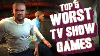 Top 5 - Worst games based on TV shows