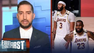 Nick Wright looks ahead to Lakers vs Nuggets Game 4, Lakers should win   NBA   FIRST THINGS FIRST