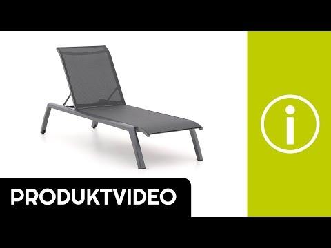 Produktvideo Bellagio Anzio Gartenliege mit Rad | Kees Smit Gartenmöbel