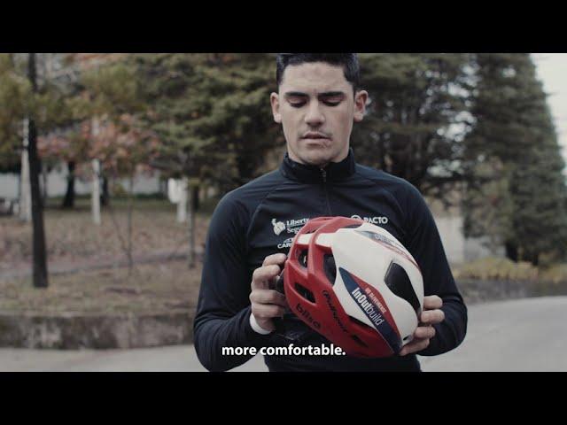 Видео Велосипедный шлем Polisport AERO-R black matte black gloss