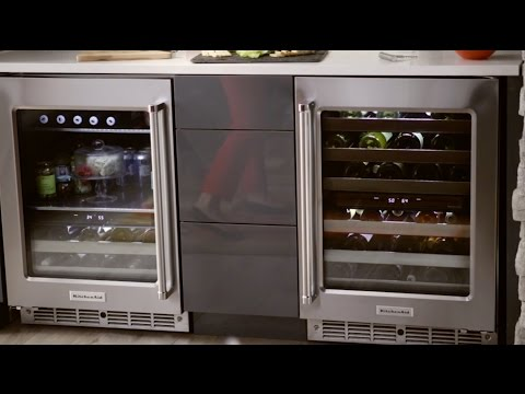 KITCHENAID® WINE CELLAR AND BEVERAGE CENTER image 1