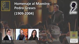 Concierto Homenaje al Maestro Pedro Grases