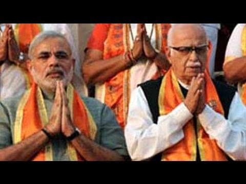 BJP's unity show: Modi, Advani to share stage at a rally in Bhopal today