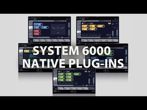 tc electronic System 6000 Native Series: System 6000 effects for your DAW